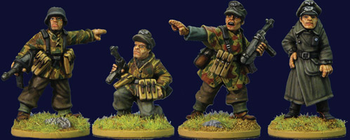 Late War German Infantry Command