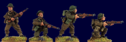 British and Commonwealth  Riflemen II