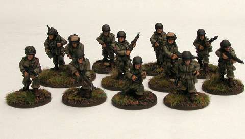 US Airborne Rifle Squad