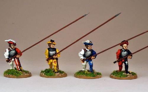 Swiss Pikemen Advancing