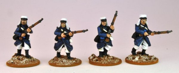 Legion in Greatcoats Advancing I