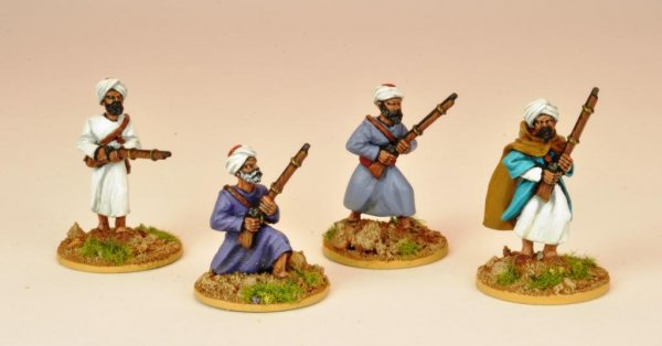 Moroccans Skirmishing