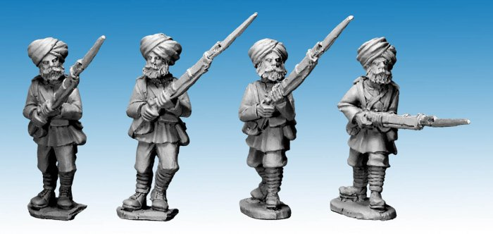 Sikh Infantry Advancing. 2nd Afghan War
