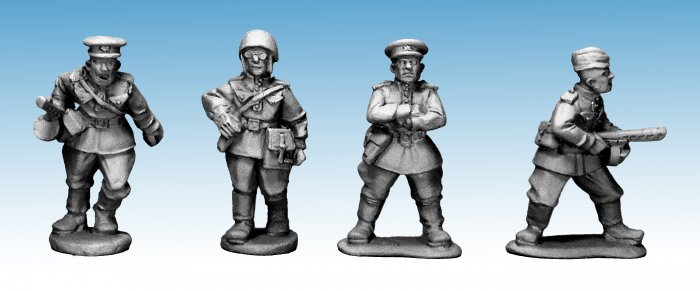 Soviet Army Characters