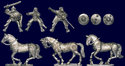 Andalusian Mounted Characters & Command