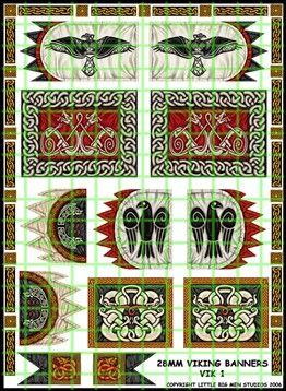 VIK-1 - Viking Banners - Artizan Designs