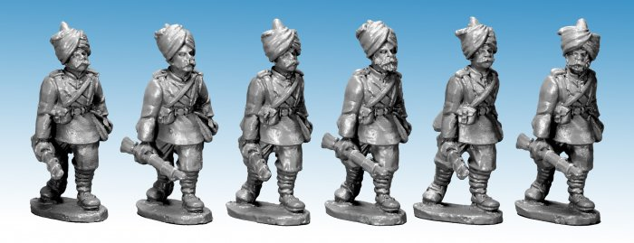 Punjabi Infantry at Trail.