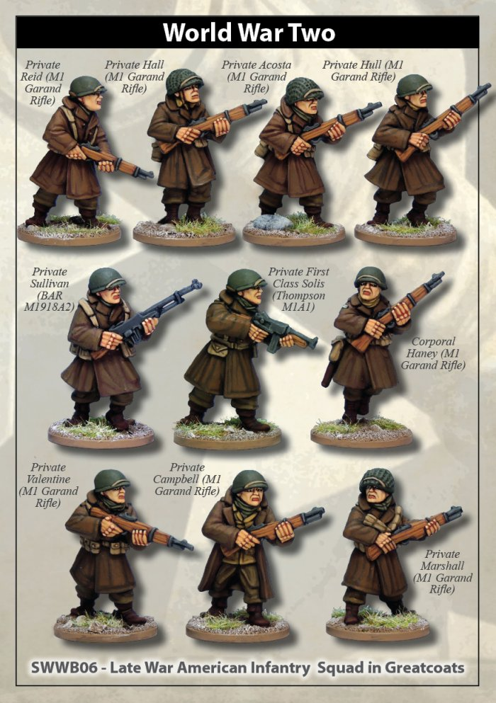 Details about  /Artizan Designs WWII 28mm F.S.S.F in Parka with Thompson 4